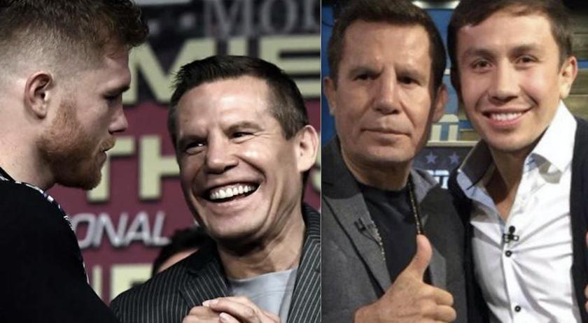 JC Chávez tiene buena relación con Canelo Álvarez y Golovkin.