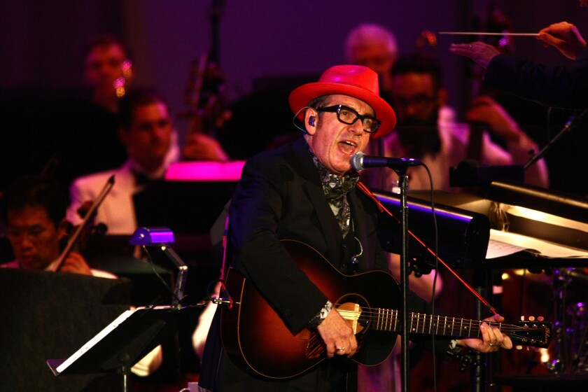 Elvis Costello and the LA Phil