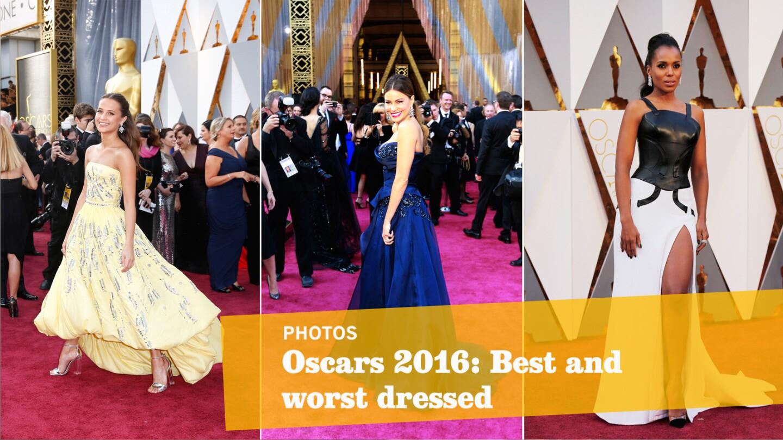 Oscars 2016: Best and worst looks