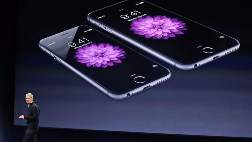 The iPhone 6 is among the phones that Apple's software updates slowed down.