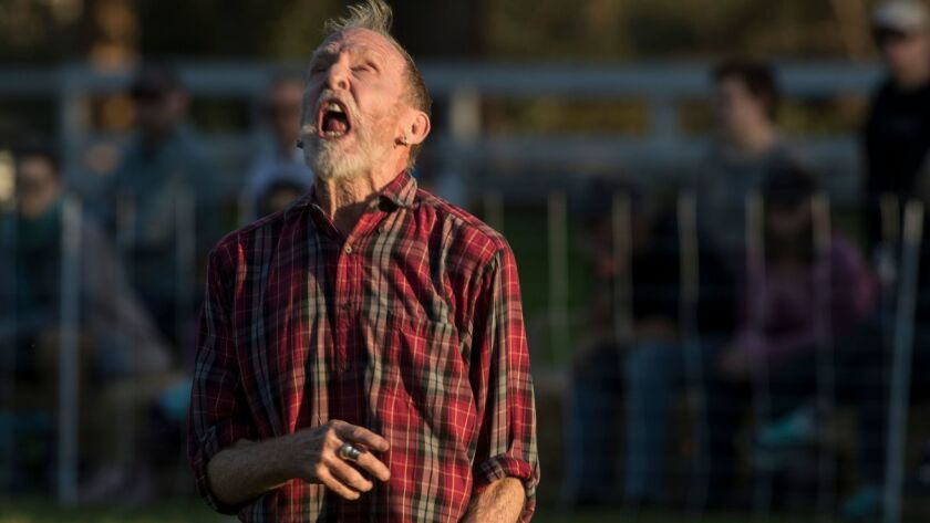 PACIFIC PALISADES, CALIF. -- SATURDAY, FEBRUARY 3, 2018: Peter Schmitz in 'Doggie Hamlet' by Ann Car
