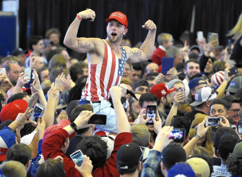 Donald Trump's campaign has been powered in part by blue-collar whites who feel threatened by changing demographics.