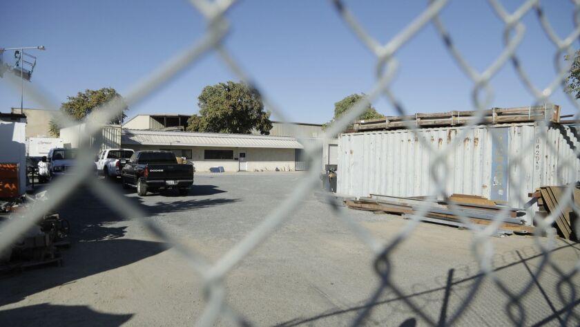 BAKERSFIELD, CA -- SEPTEMBER 12, 2018: Vortex Construction in Bakersfield run by William Wages. U.S.