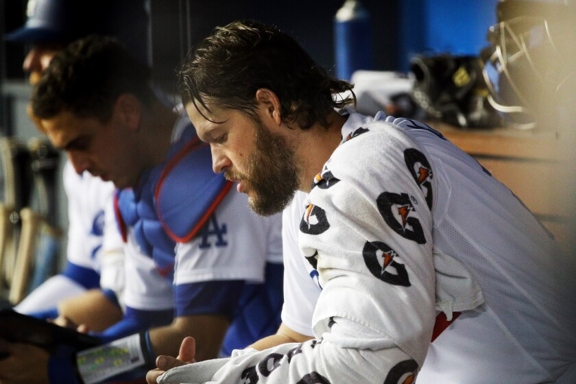 Clayton Kershaw done as a Dodger? Decision on future looms - Los Angeles  Times