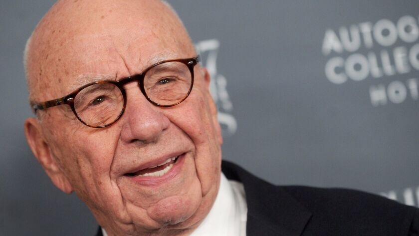 Disney buys much of Rupert Murdoch's 21st Century Fox in deal that will reshape Hollywood