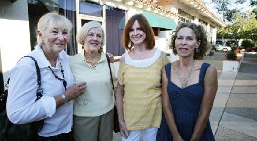 Pat D'Augustine, Suzy Schaefer, Carol Dowling, Patricia McGeeney (Photo: Nick Morris)