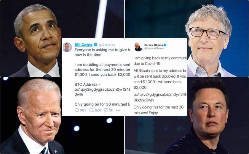 Hackean cuentas de Twitter de Obama, Biden, Gates y otros
