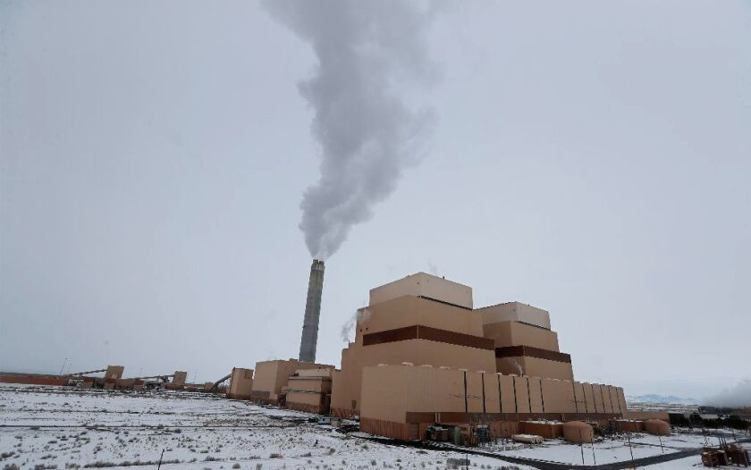 The coal-burning Intermountain Power Plant in Delta, Utah, is scheduled to be closed by 2025.