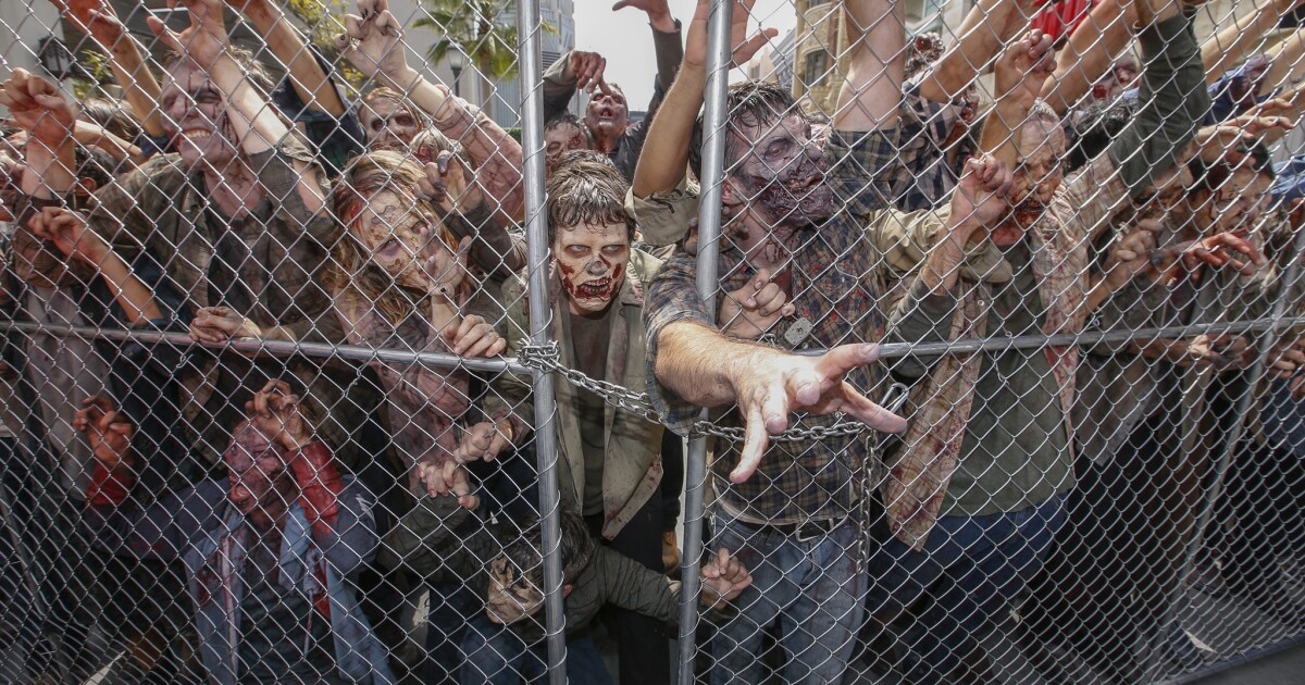 Death comes for 'The Walking Dead' attraction at Universal Studios Hollywood
