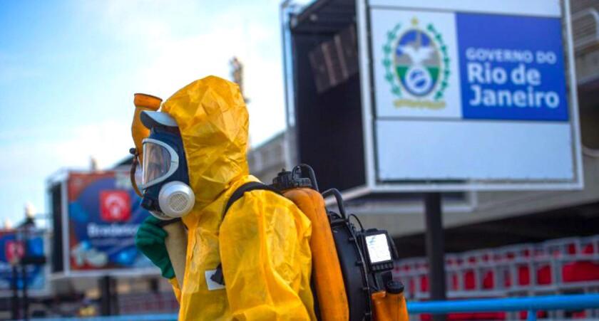 Río de Janeiro ha sido uno de los estados de Brasil con un más casos del zika y del dengue...