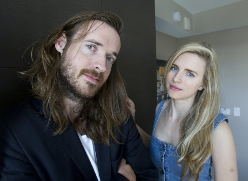 """Mike Cahill is the director and co-worker for the film """"Another Earth"""" along with Brit Marling who also co-wrote along with starring in the movie.  Photo by Earnie Grafton/The San Diego Union-Tribune."""