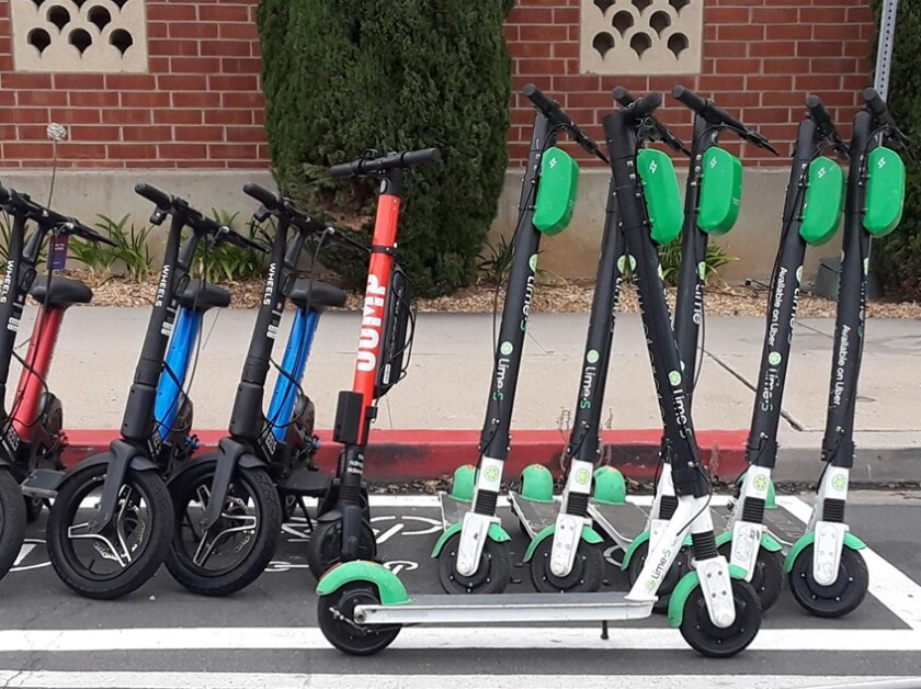 'In an ideal world, the Mayor would terminate our agreement with scooter companies because they have broken the rules of the ordinance we passed.' — Barbara Bry, District 1 City Council member