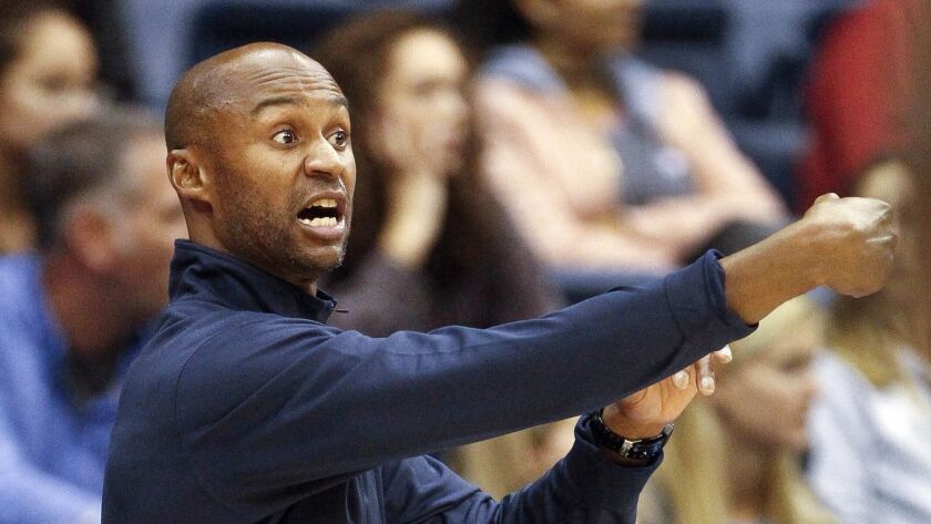 Lamont Smith coached University of San Diego basketball from 2015-18.