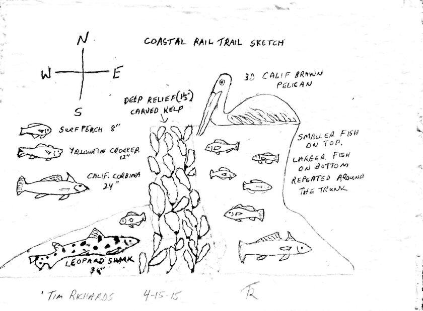 Sketch by Tim Richards