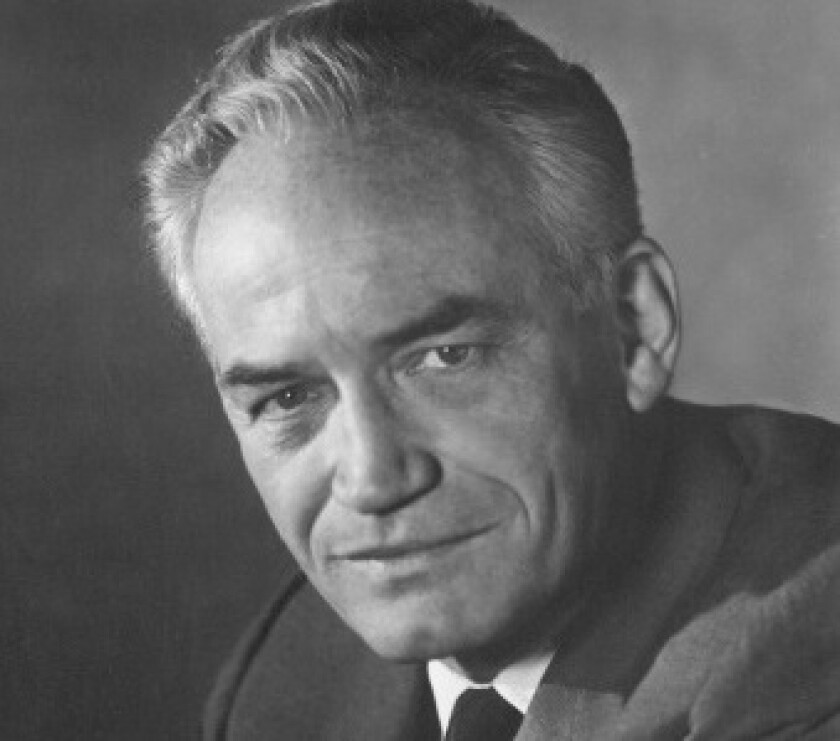 U.S. Senator Barry Goldwater summered with his family in La Jolla from 1940 to 1960.