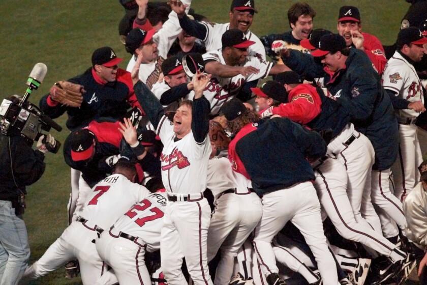 Braves Remembering '95 Baseball