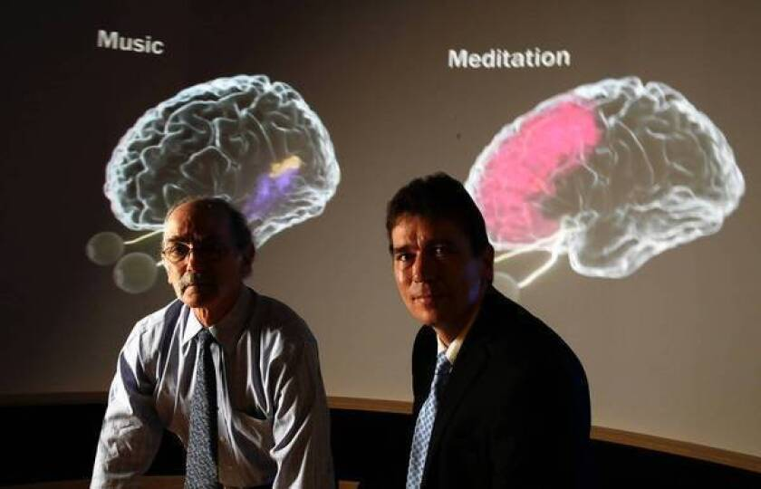 Neuroscientists Arthur Toga, left, and Paul Thompson will move to USC next fall, along with scores of graduate students, postdoctoral fellows and staffers who now work at UCLA's Laboratory of Neuro Imaging.