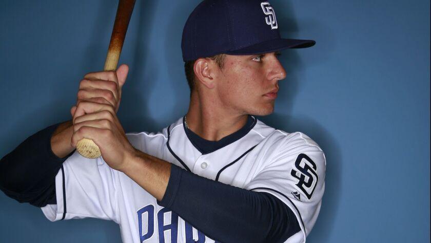San Diego Padres infielder Luis Urias