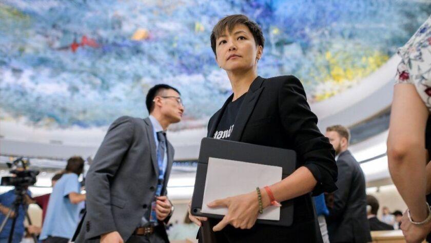SWITZERLAND-HONG-KONG-CHINA-POLITICS-DEMONSTRATION-RIGHTS-UN