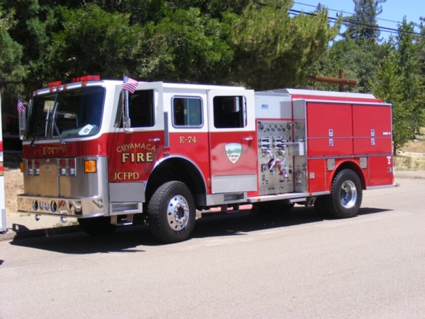 Has anyone seen this fire truck, which has since been renumbered E57? It's a 1994 Beck Type 1 Structural Fire Engine.
