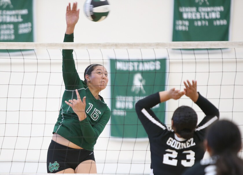 Costa Mesa girls' volleyball sweeps Godinez in home opener