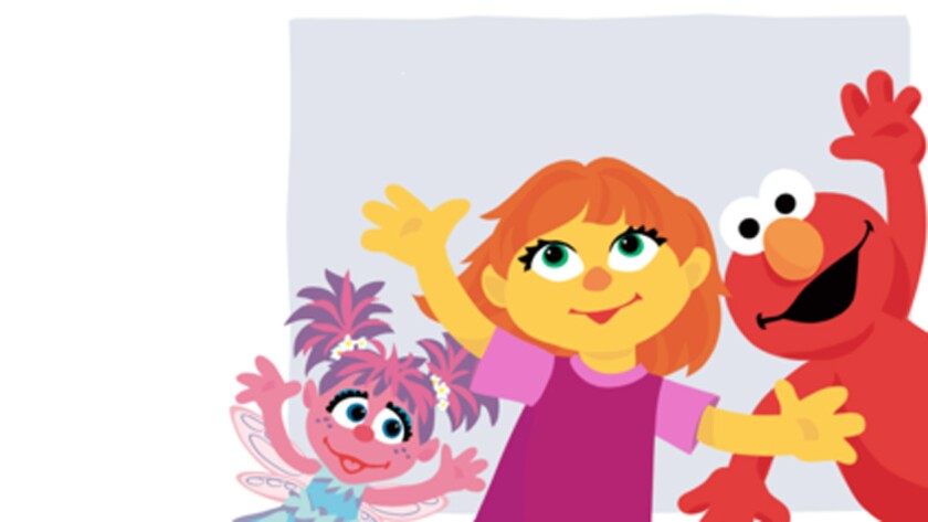 Meet Julia, Sesame Street's newest muppet