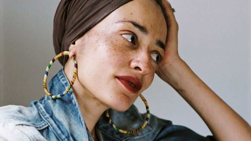 "Zadie Smith, author of ""Swing Time."""