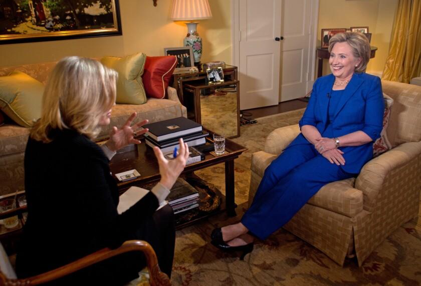 Diane Sawyer interviews Hillary Rodham Clinton