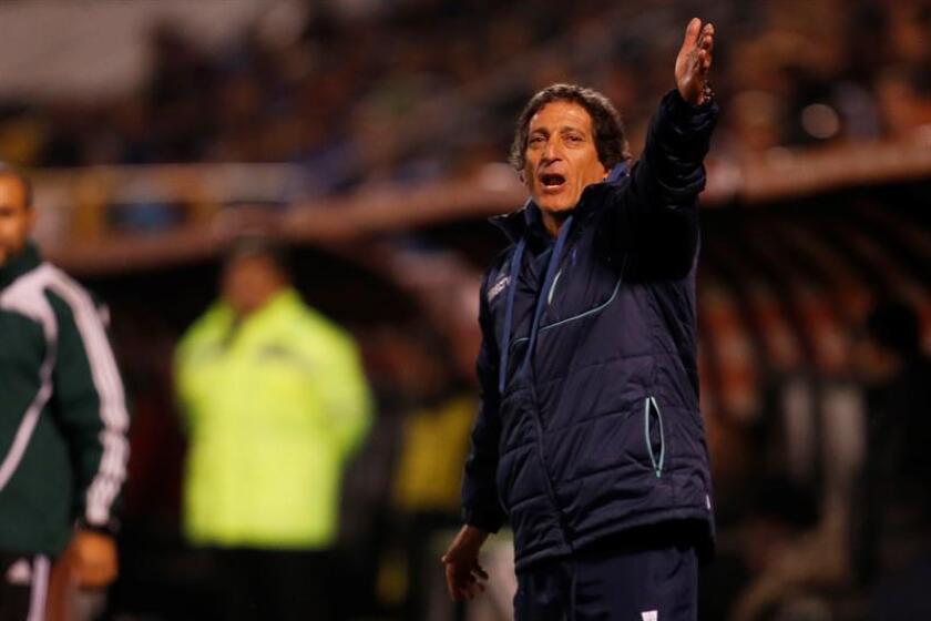 En la imagen, el entrenador chileno Mario Salas. EFE/Archivo