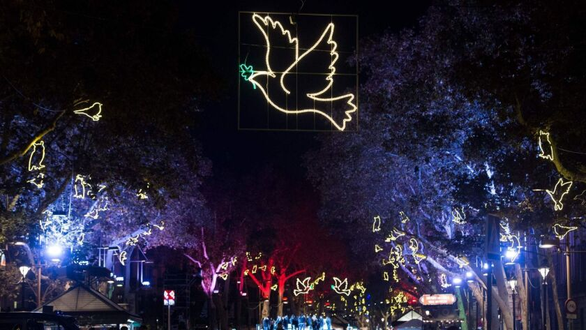 SPAIN-CHRISTMAS-PEACE-FEATURE