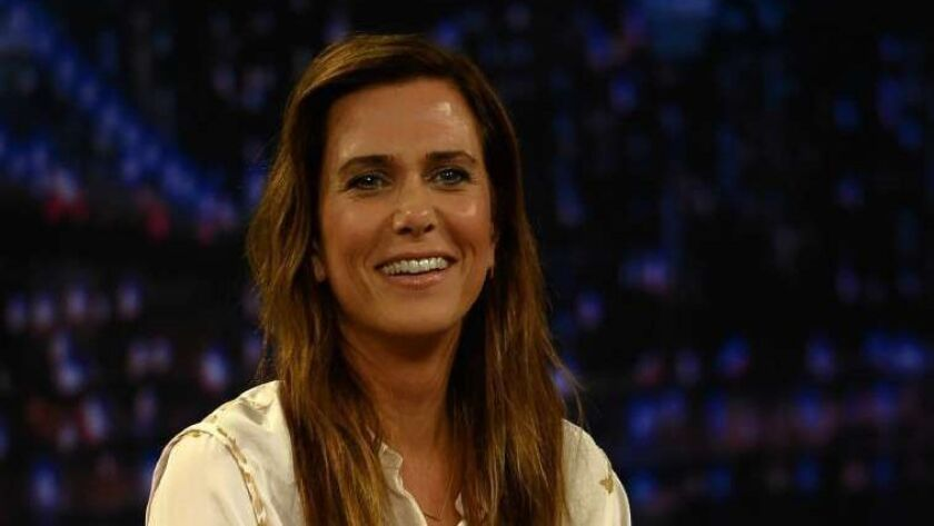 """Kristin Wiig Visits """"Late Night With Jimmy Fallon"""""""