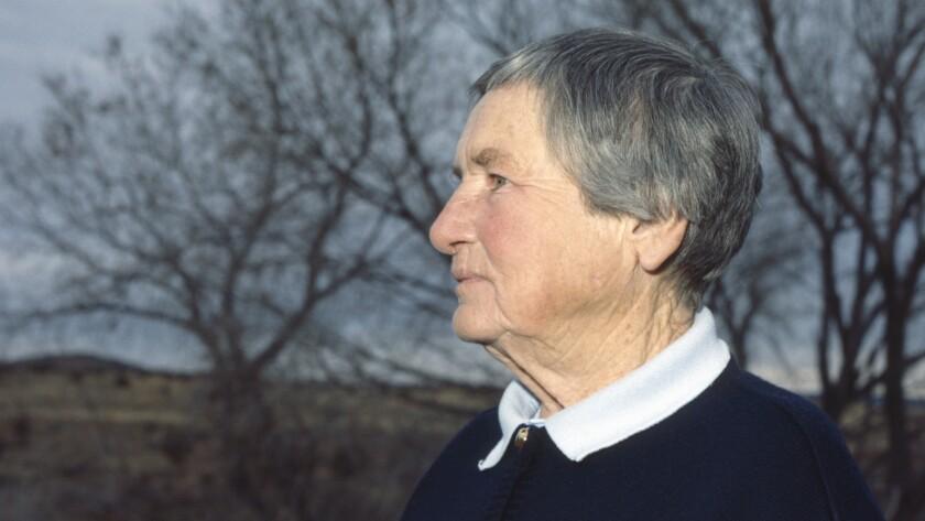 Agnes Martin in Galisteo, c. 1988