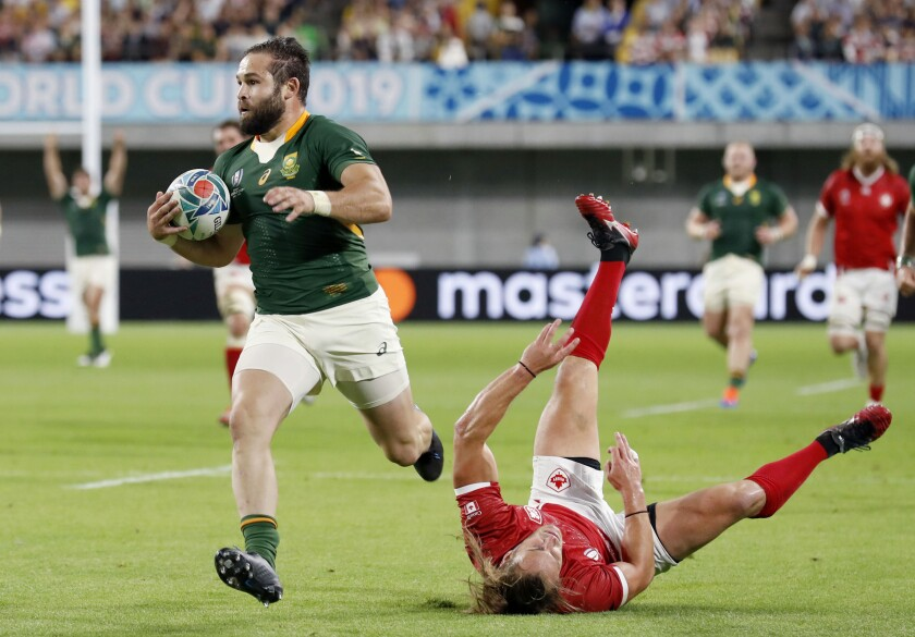 Japan Rugby WCup South Africa Canada