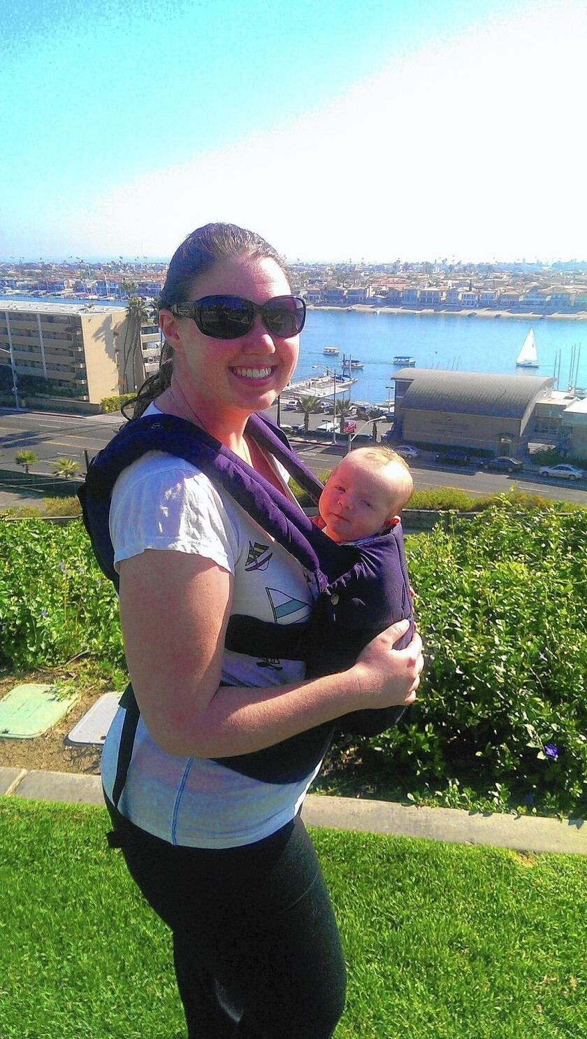 Newport woman finds herself at center of breastfeeding flap