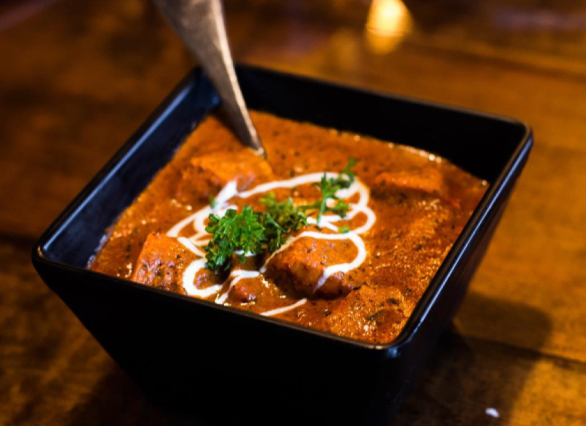 The tikka masala dish is a great option for a filling, meat-free meal with a kick [Sundara Indian Cuisine]