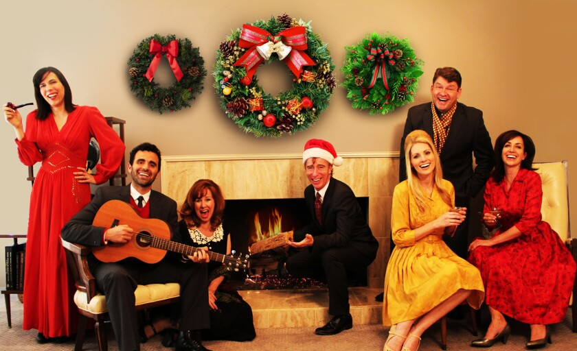 """Impro Theatre will spoof classic Christmas specials in the improv company's """"1966 Holiday Variety Extravaganza"""" at the Garry Marshall Theatre in Burbank."""