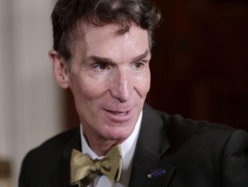 Bill Nye, the (planetary) science guy, on NASA's future