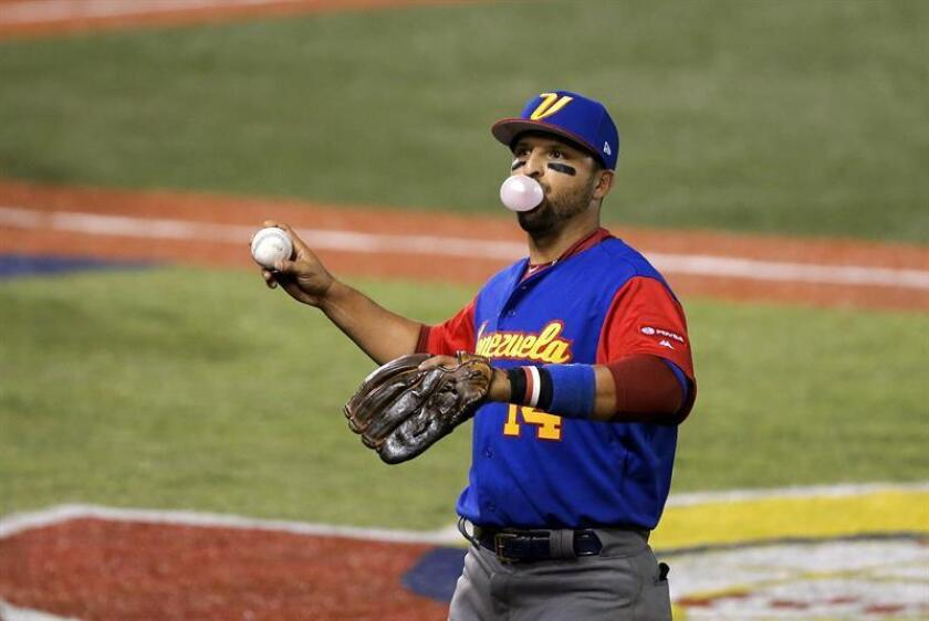 En la imagen, Martín Prado de Venezuela. EFE/Archivo
