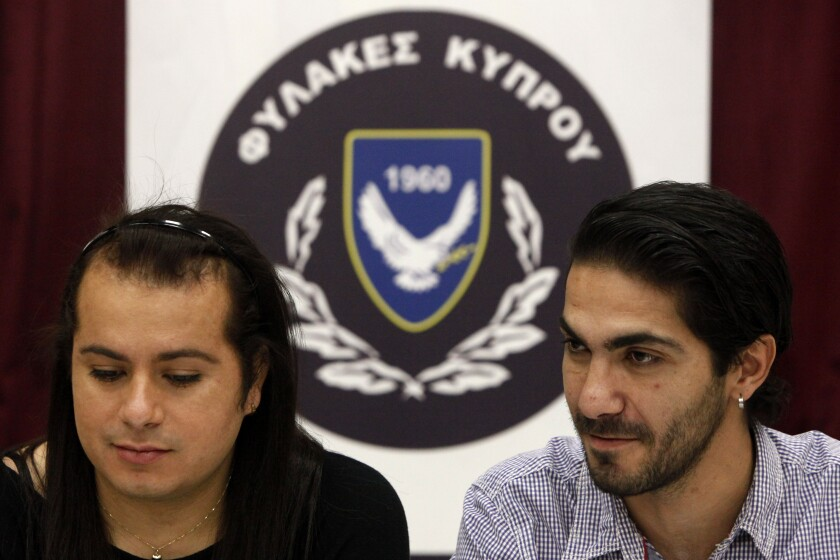 Cyprus Prison Gay Married