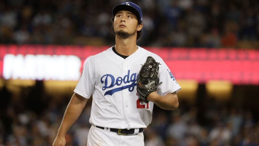 Dodgers pitcher Yu Darvish had two rough outings during the World Series but still might end up returning to the team as a free agent.