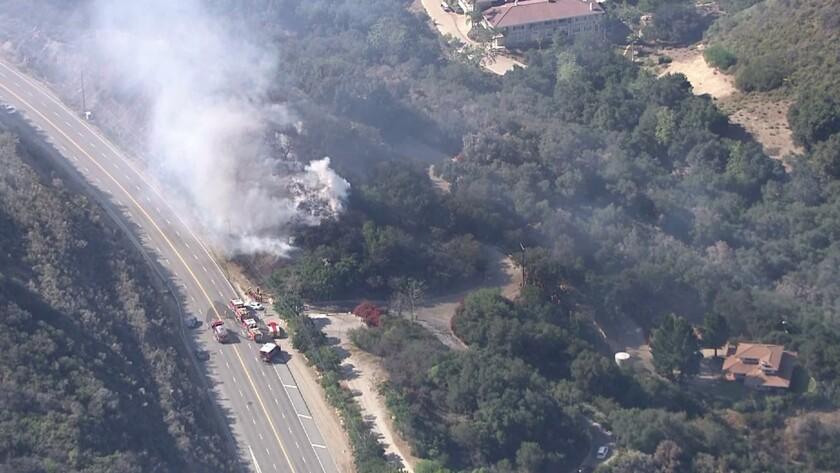Fire in Malibu