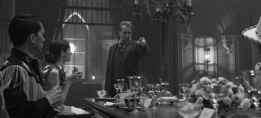 Gary Oldman as Herman Mankiewicz.