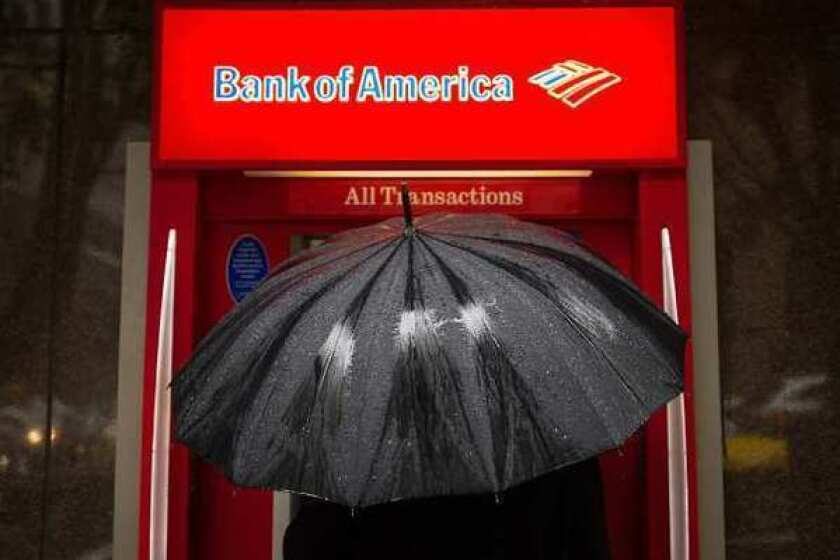 Bank of America reported falling profit, but excluding a one-time accounting charge, its earnings beat estimates.