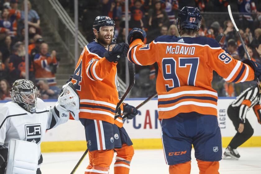 Kings Oilers Hockey