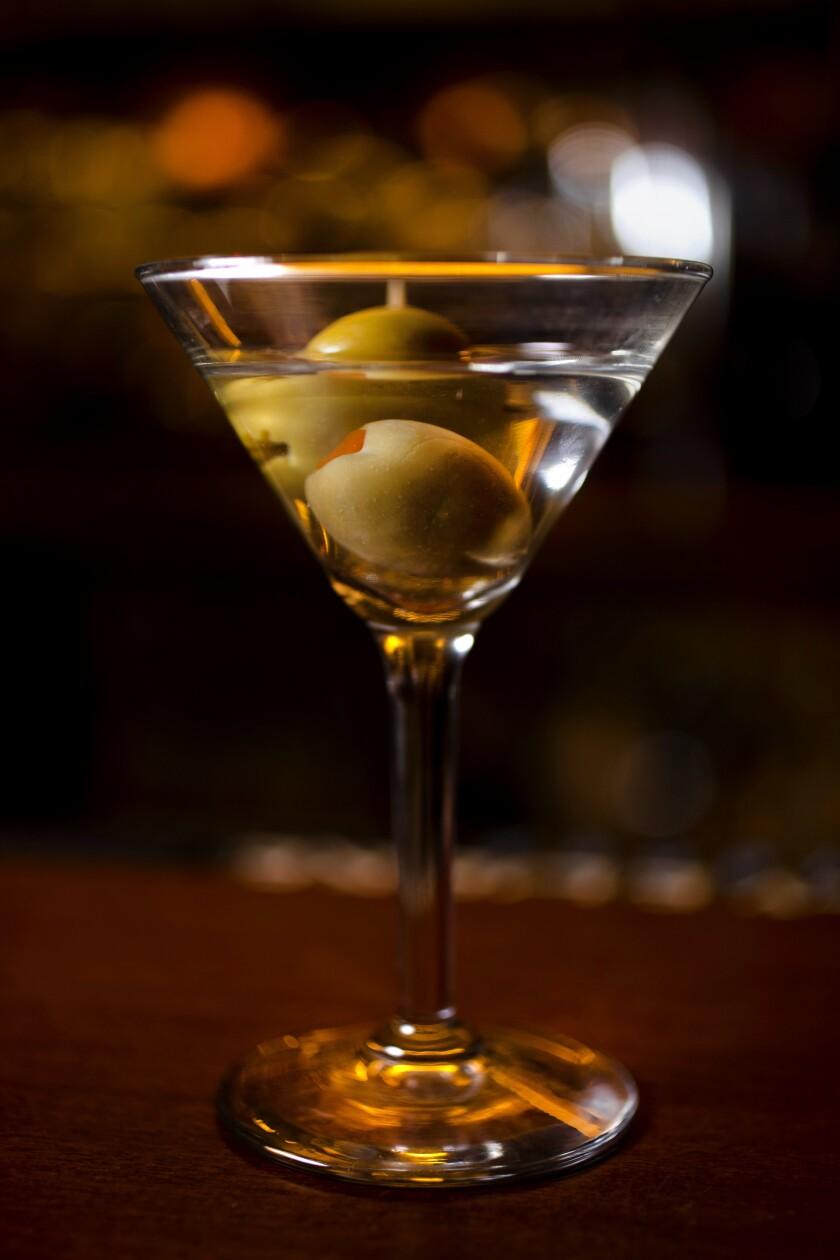 Musso & Frank's tiny martini