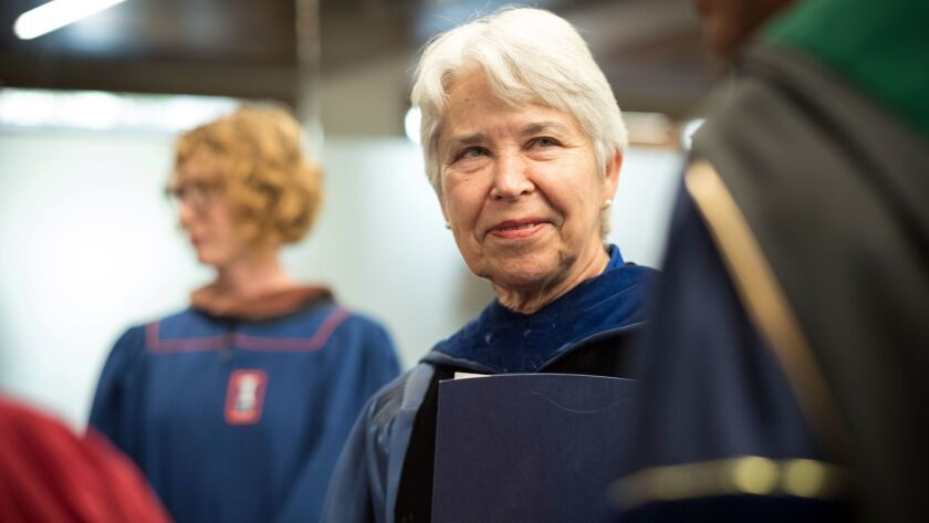 New UC Berkeley Chancellor Carol Christ took the helm in July.