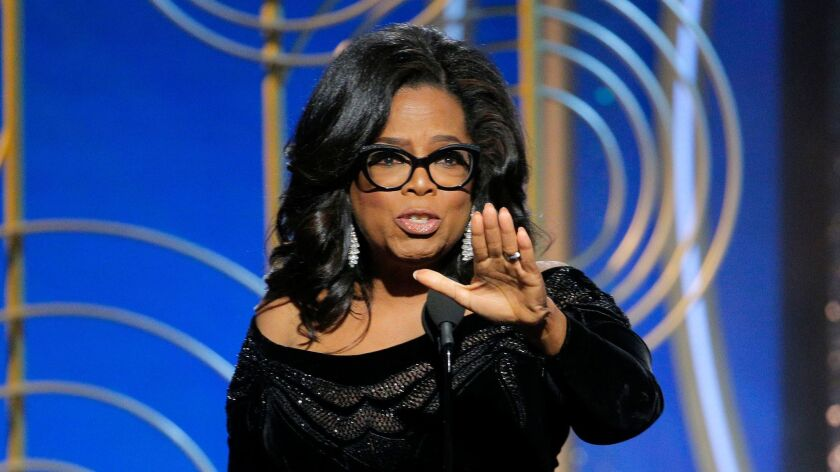Oprah Winfrey delivers an inspirational speech at the Golden Globes on Sunday, but not everything she's sold has been good for your health.