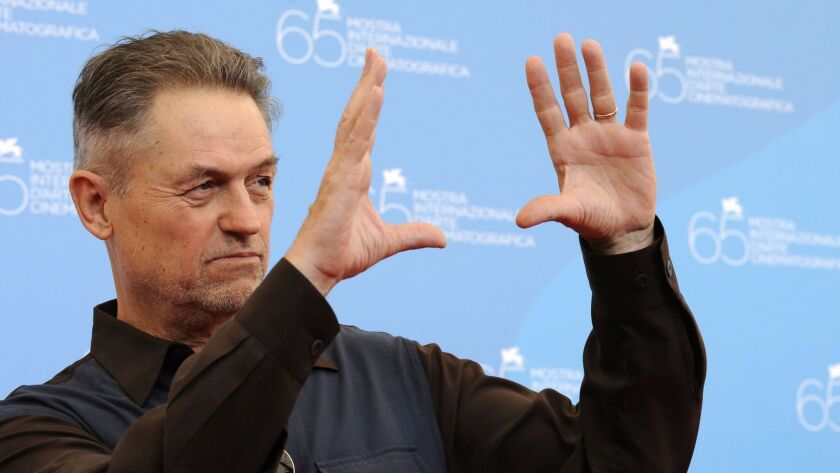 "Jonathan Demme during the September 2008 photocall of the movie ""Rachel Getting Married"" at the 65th Venice International Film Festival."