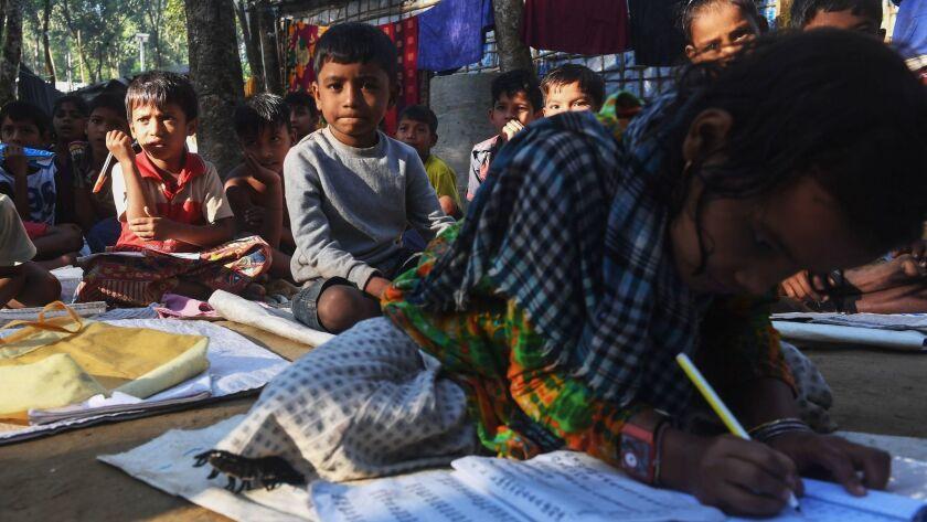 BANGLADESH-MYANMAR-REFUGEE-ROHINGYA