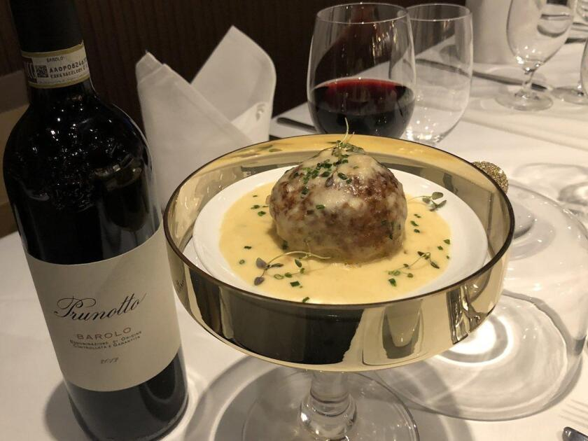 On National Meatball Day, Davio's Northern Italian Steakhouse in New York will be serving up a swanky version of the Italian classic for a whopping $100.